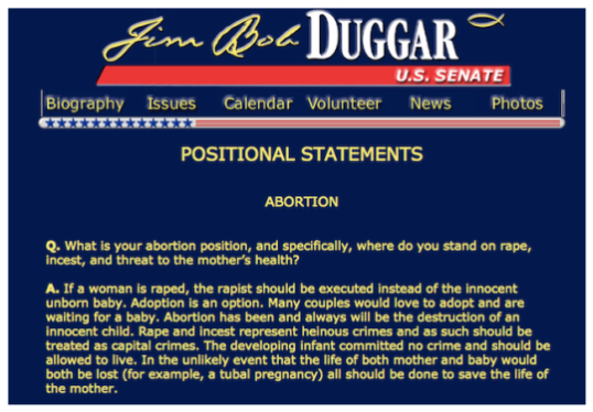 """Yet another example why the movement is anti-choice, not """"pro-life"""""""